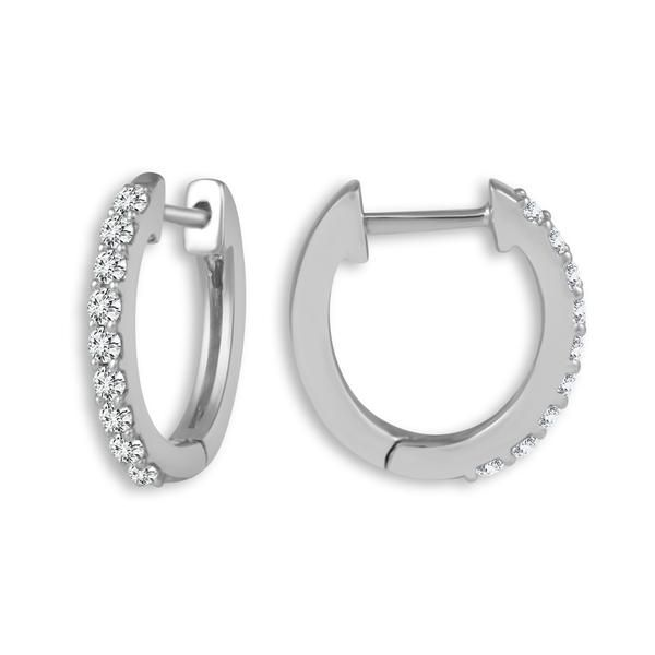XS Diamond Hoops Kiefer Jewelers Lutz, FL