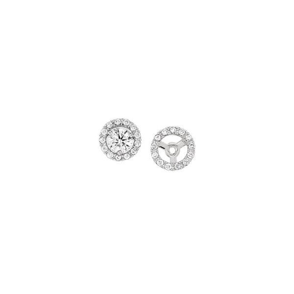 14K Diamond Earring Jackets Kiefer Jewelers Lutz, FL
