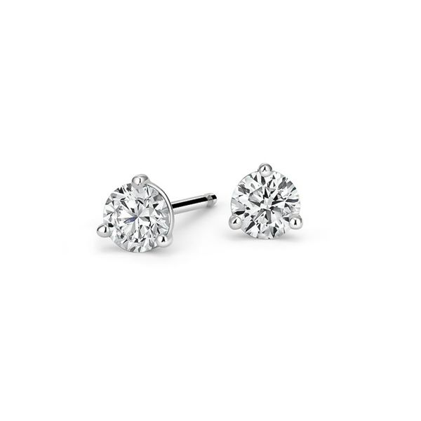 14K .60ctw Diamond Stud Earrings Kiefer Jewelers Lutz, FL