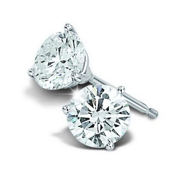 1/2ctw Diamond Martini Stud Earrings Kiefer Jewelers Lutz, FL
