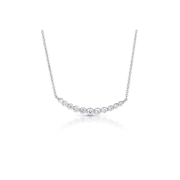 14K Diamond Bar Necklace Kiefer Jewelers Lutz, FL