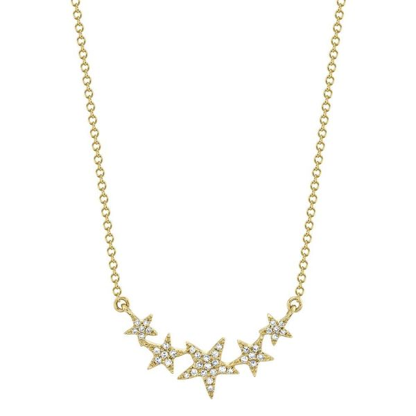 Diamond Star Necklace Kiefer Jewelers Lutz, FL