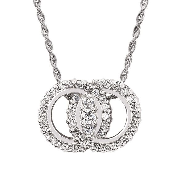 1/2cyw Diamond Marriage Symbol Necklace Kiefer Jewelers Lutz, FL