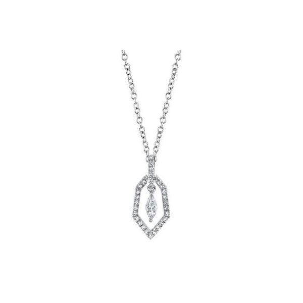 Diamond Marquise Necklace Kiefer Jewelers Lutz, FL
