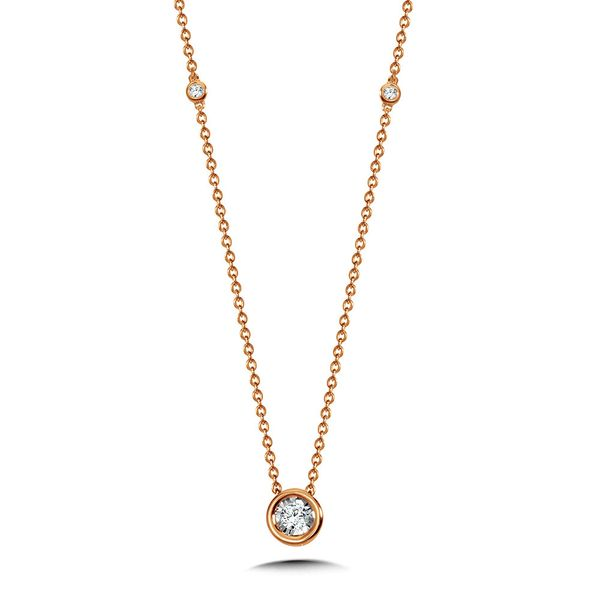 14K Yellow Gold Diamond Necklace Kiefer Jewelers Lutz, FL