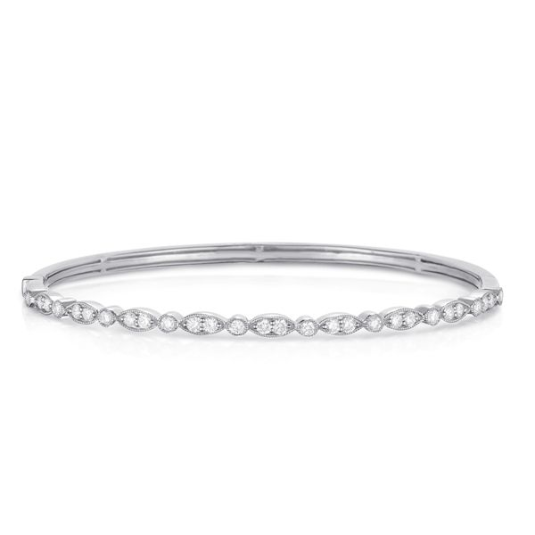 Diamond Bangle Bracelet Kiefer Jewelers Lutz, FL