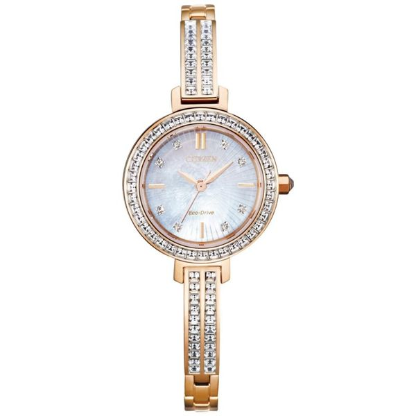 Lady's Silhouette Crystal Citizen Watch Kiefer Jewelers Lutz, FL