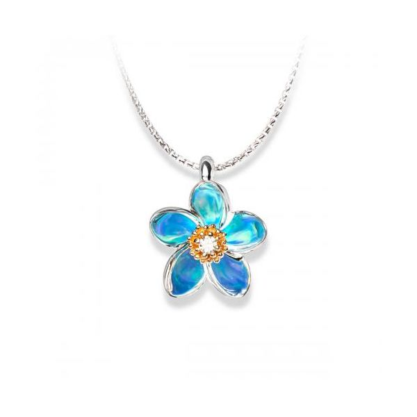 Gloria Plumeria Necklace Kiefer Jewelers Lutz, FL