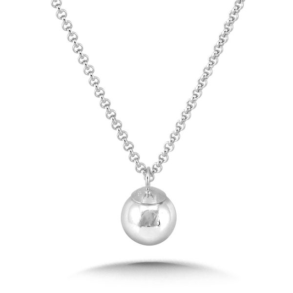 Sterling Silver Ball Necklace Kiefer Jewelers Lutz, FL