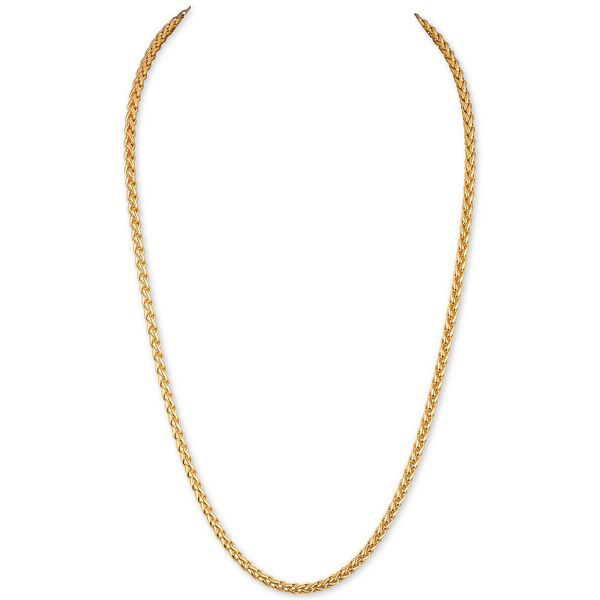 Men's Gold Plated Necklace Kiefer Jewelers Lutz, FL