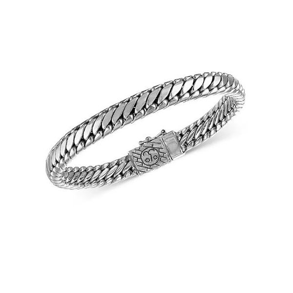Sterling Men'sSerpentine Bracelet Kiefer Jewelers Lutz, FL