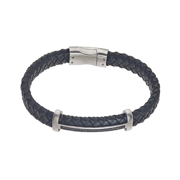 Men's Leather Bracelet Kiefer Jewelers Lutz, FL
