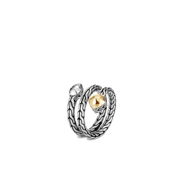 Classic Chain Hammered Coil Ring Kiefer Jewelers Lutz, FL