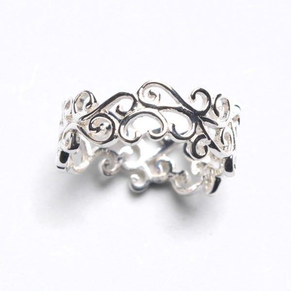 Sterling Silver Scroll Ring Kiefer Jewelers Lutz, FL