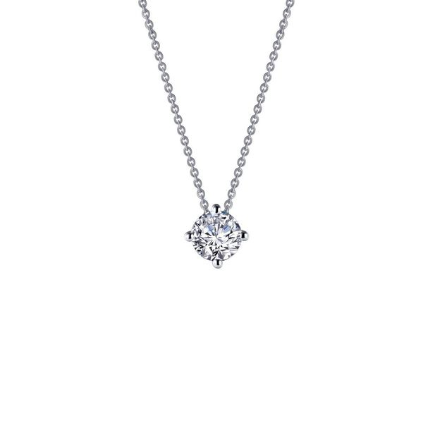 Lafonn 1CT Solitaire Necklace Kiefer Jewelers Lutz, FL