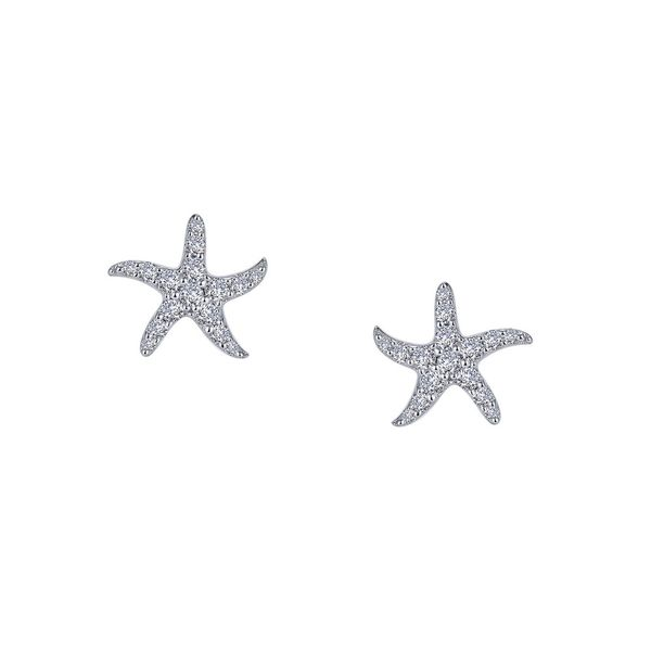 Lafonn Starfish Studs Kiefer Jewelers Lutz, FL