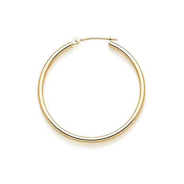 14K Large Hoop Earrings Kiefer Jewelers Lutz, FL