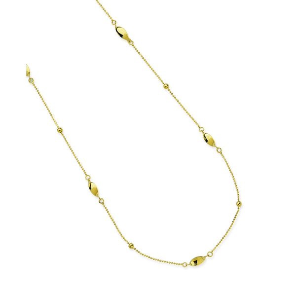 14K Bead/Twist Necklace Kiefer Jewelers Lutz, FL