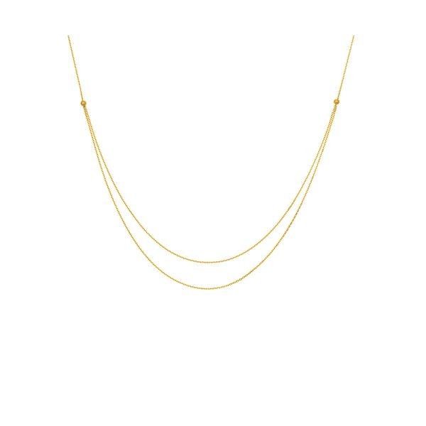 14K Duo Stack Necklace Kiefer Jewelers Lutz, FL