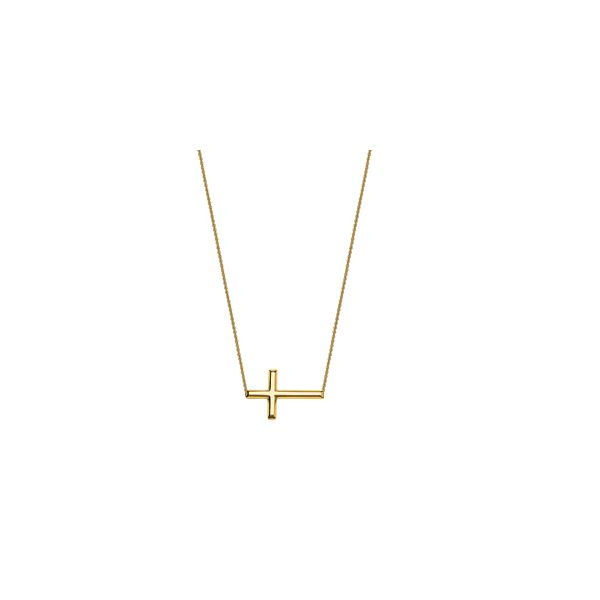 14K E2W Cross Necklace Kiefer Jewelers Lutz, FL