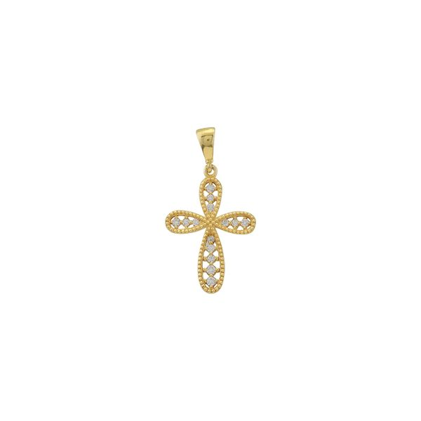 14K CZ Cross Kiefer Jewelers Lutz, FL