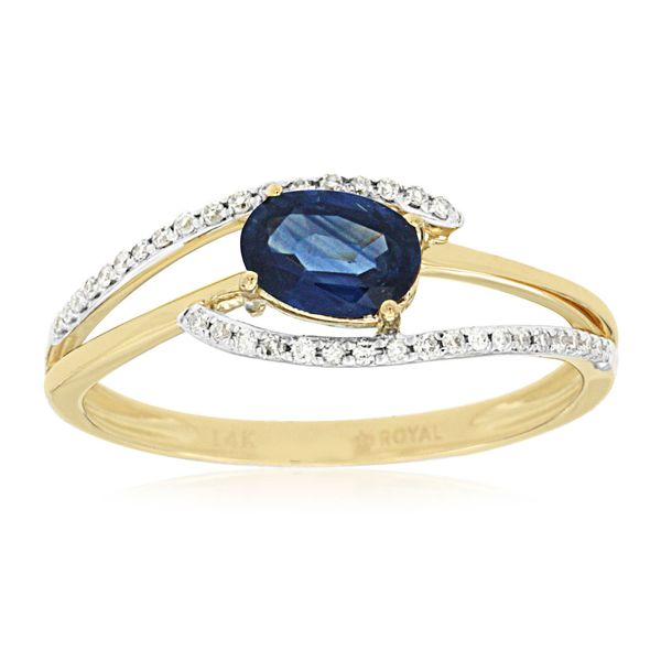 14K Sapphire & Diamond Ring Kiefer Jewelers Lutz, FL