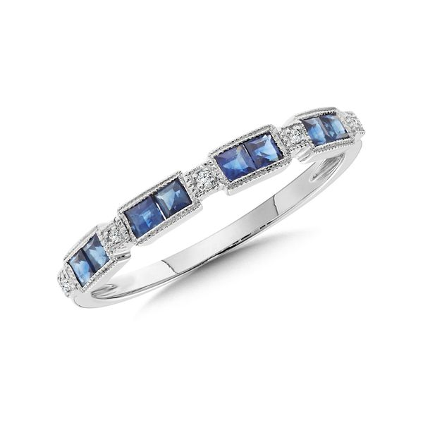 Sapphire & Diamond Band Kiefer Jewelers Lutz, FL
