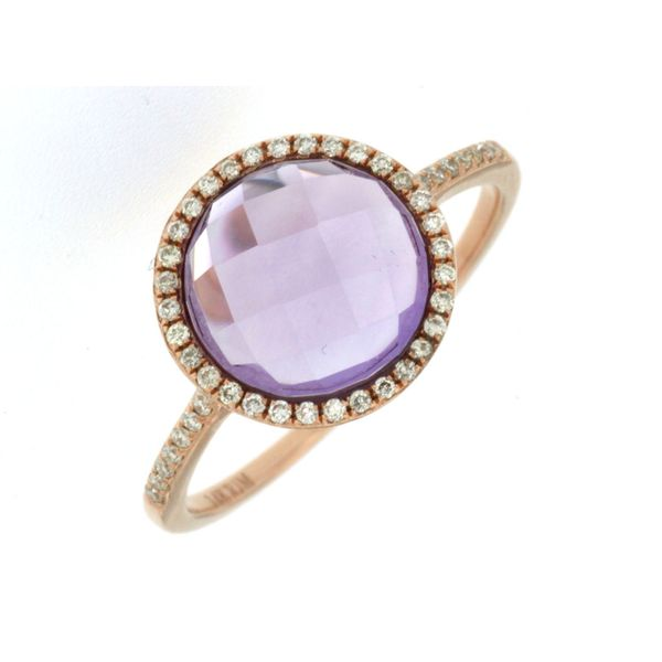 Amethyst & Diamond Ring Kiefer Jewelers Lutz, FL