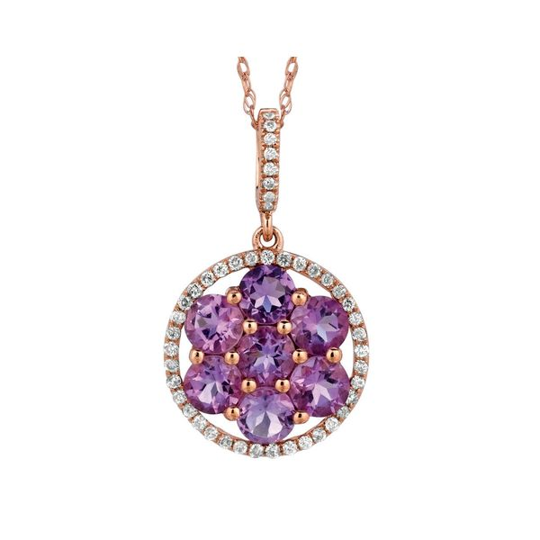 Amethyst & Diamond Necklace Kiefer Jewelers Lutz, FL