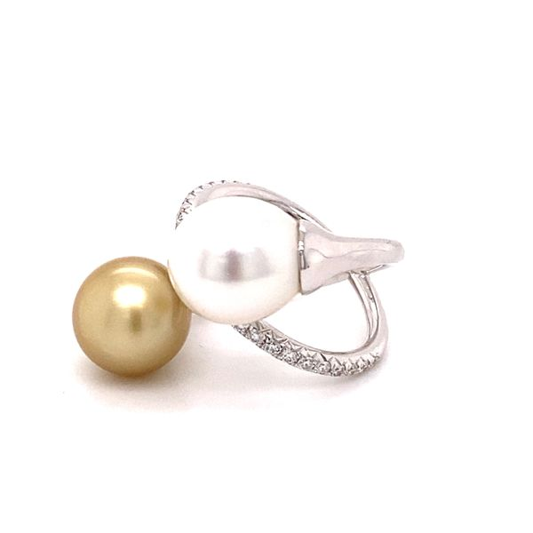 South Sea Pearl ring Image 2 Kiefer Jewelers Lutz, FL