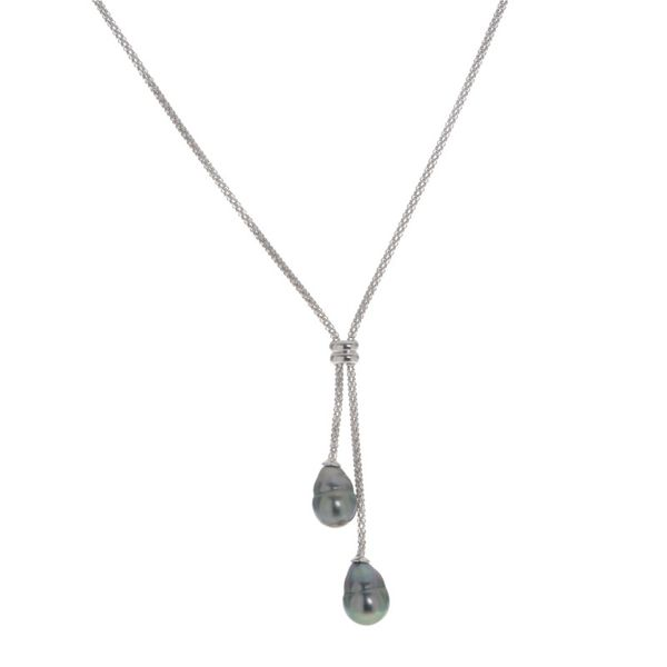 Sterling Tahitian Barogue Necklace Kiefer Jewelers Lutz, FL
