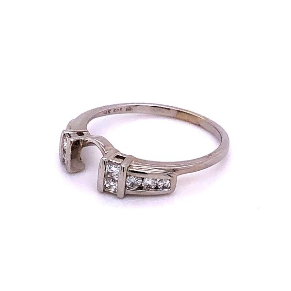 Estate 14K Diamond Wrap Ring Image 2 Kiefer Jewelers Lutz, FL