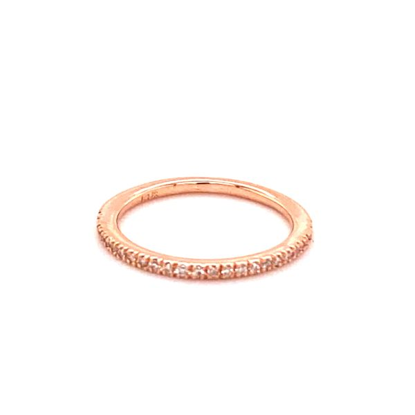 Estate Rose Gold Diamond Ring Kiefer Jewelers Lutz, FL