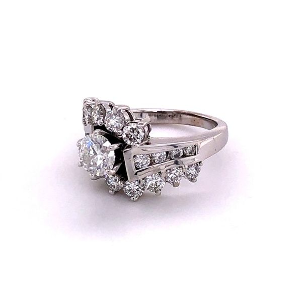 Estate 2.25ctw Diamond Engagement Ring Image 2 Kiefer Jewelers Lutz, FL