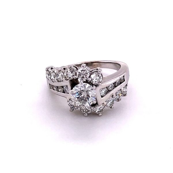 Estate 2.25ctw Diamond Engagement Ring Kiefer Jewelers Lutz, FL