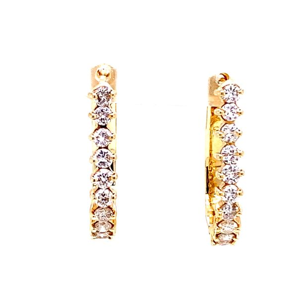 Estate Diamond Earrings Kiefer Jewelers Lutz, FL