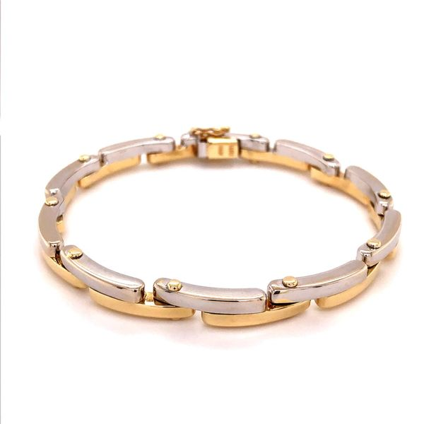 Estate 14K 2Tone Bracelet Kiefer Jewelers Lutz, FL