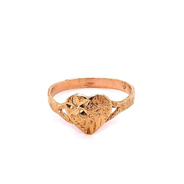 Estate 14K Heart Ring Kiefer Jewelers Lutz, FL