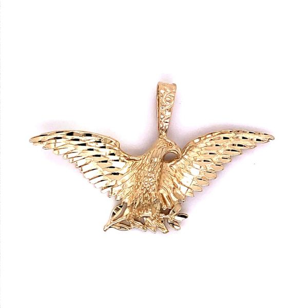 Estate 14K Eagle Pendant Kiefer Jewelers Lutz, FL