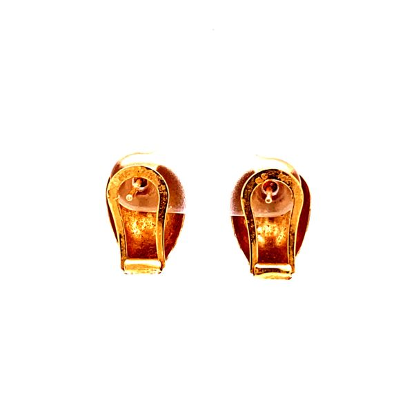 Estate Gold Earrings Image 3 Kiefer Jewelers Lutz, FL