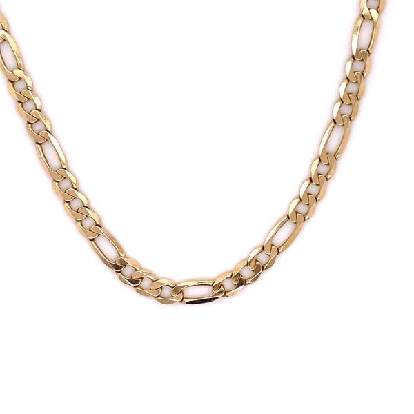 Estate 14K Figaro Chain Kiefer Jewelers Lutz, FL