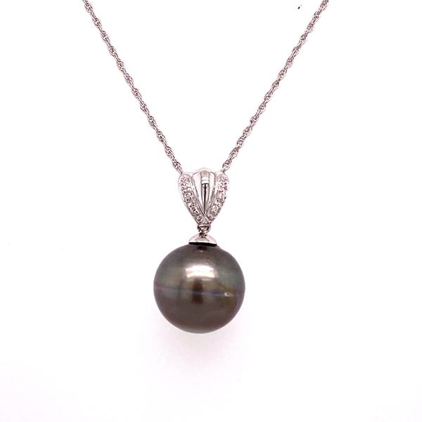 Estate Black Pearl Necklace Kiefer Jewelers Lutz, FL