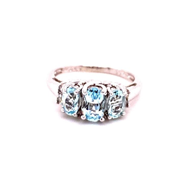 Estate Aquamarine Ring Kiefer Jewelers Lutz, FL