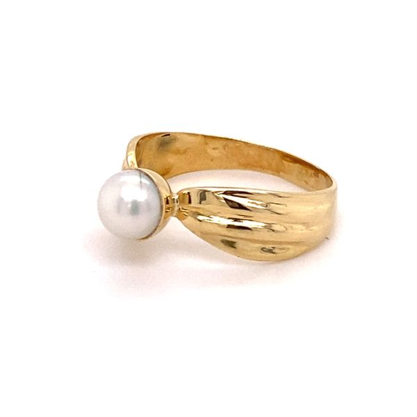Estate 14K Pearl Ring Image 2 Kiefer Jewelers Lutz, FL