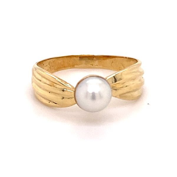 Estate 14K Pearl Ring Kiefer Jewelers Lutz, FL