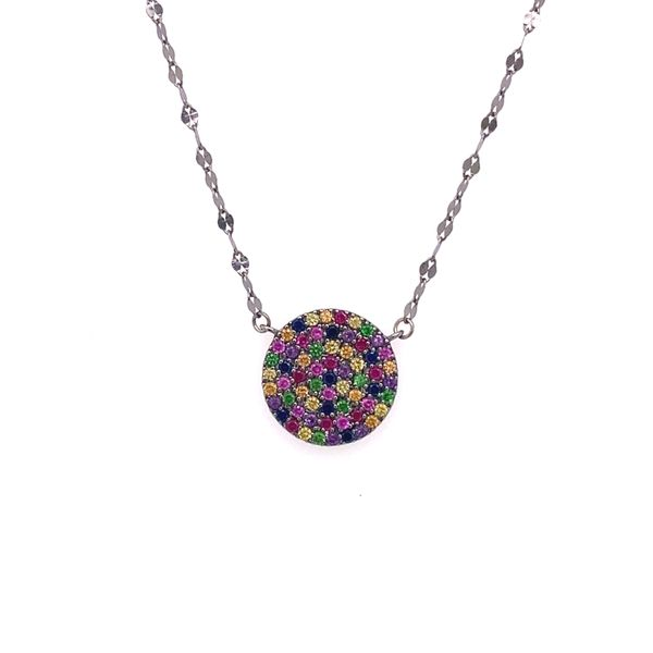 Estate Multi Sapphire Necklace Kiefer Jewelers Lutz, FL