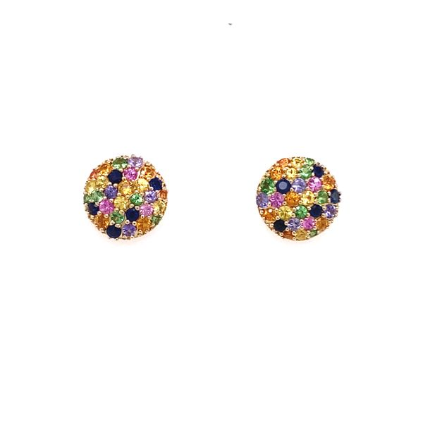 Estate Effy Multi Sapphire Earrings Kiefer Jewelers Lutz, FL
