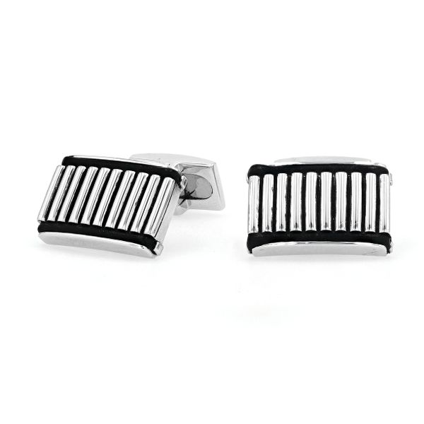 STG Hoxton London Cuff Links with Black Onyx La Mine d'Or Moncton, NB