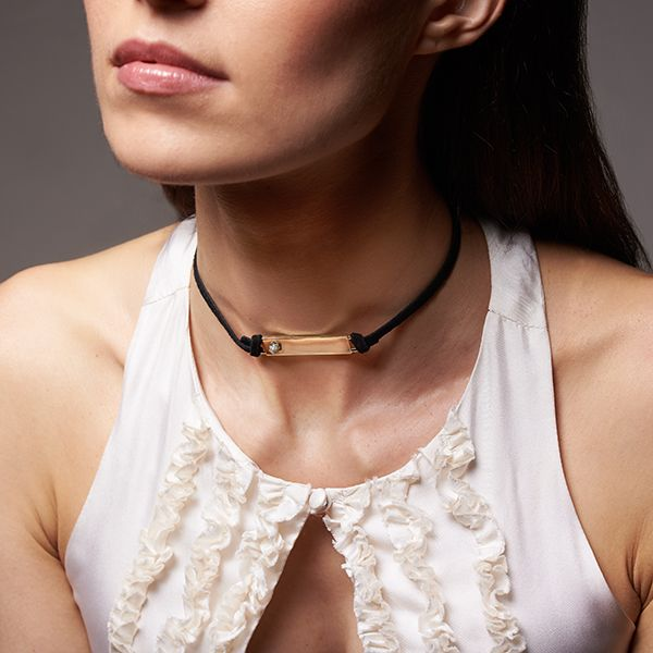Legami Wabi-Sabi Collection Chocker in Sterling Silver Image 3 La Mine d'Or Moncton, NB
