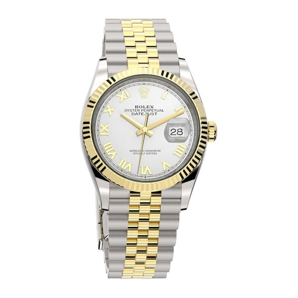 36mm Rolex O.P. Datejust 36, Oystersteel and Yellow Gold La Mine d Or Moncton, NB